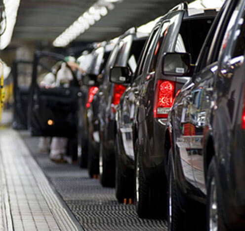 Honda Plant Employee Cars Manufacturing