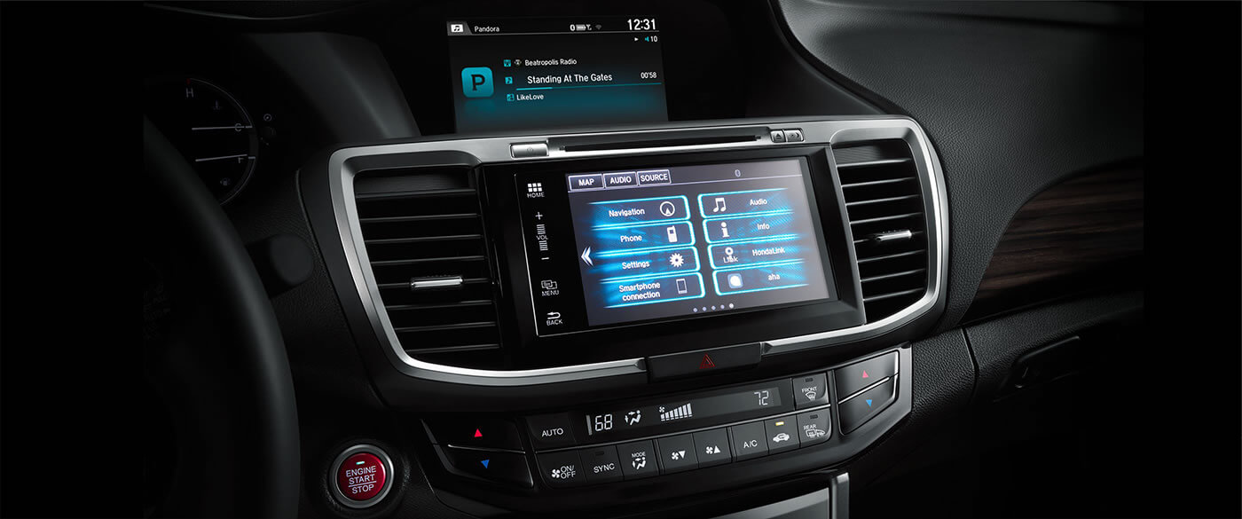 2017 Honda Accord display touchscreen