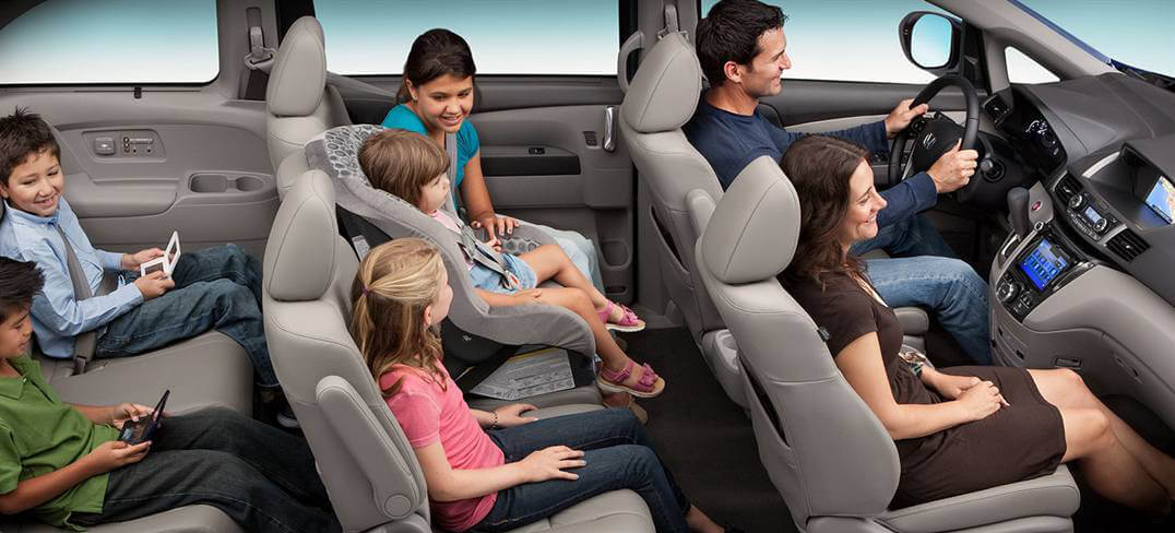 It S All About Family Comfort In The 2017 Honda Odyssey Interior