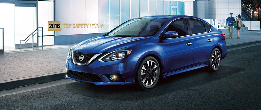 2016 Nissan Sentra with Top Safety Pick
