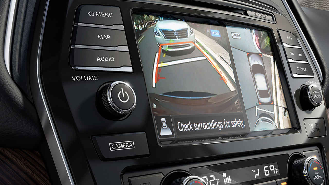2017 Nissan Maxima Around View Monitor