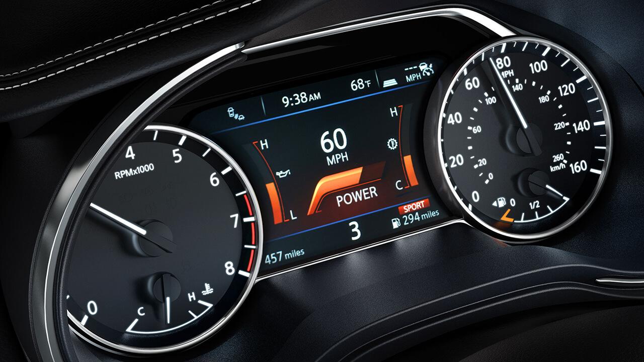 2017 Nissan Maxima Drive Mode Selector