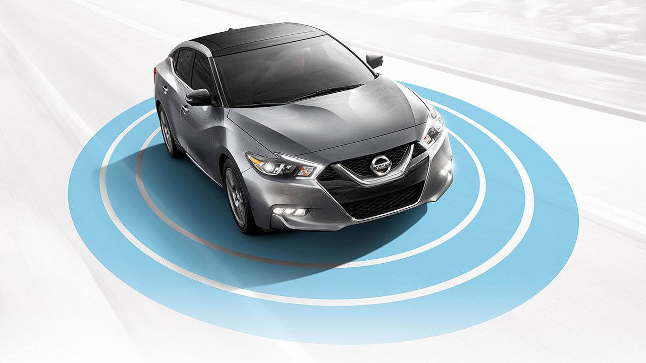 2017 Nissan Maxima Aerial Side View Alerts