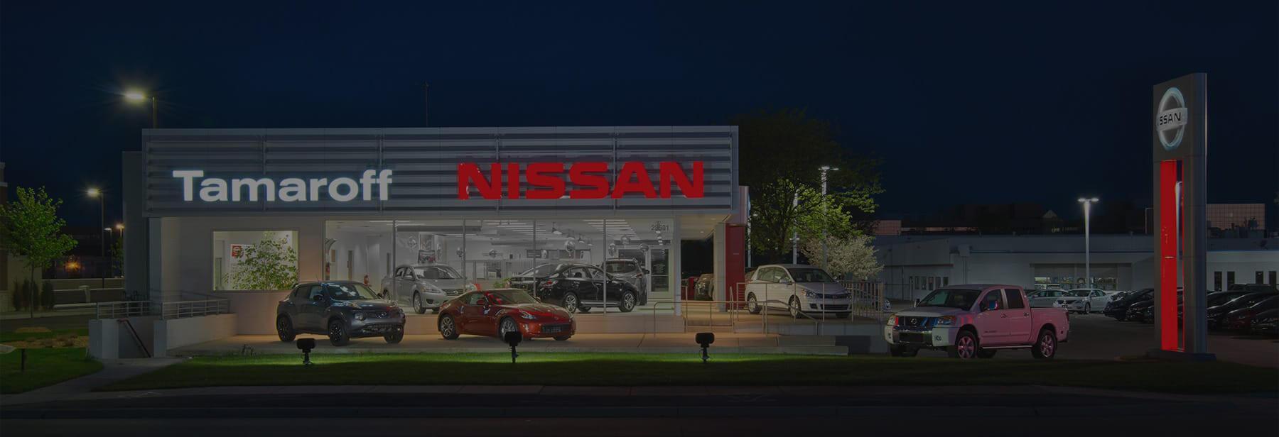 Tamaroff Nissan Dealership