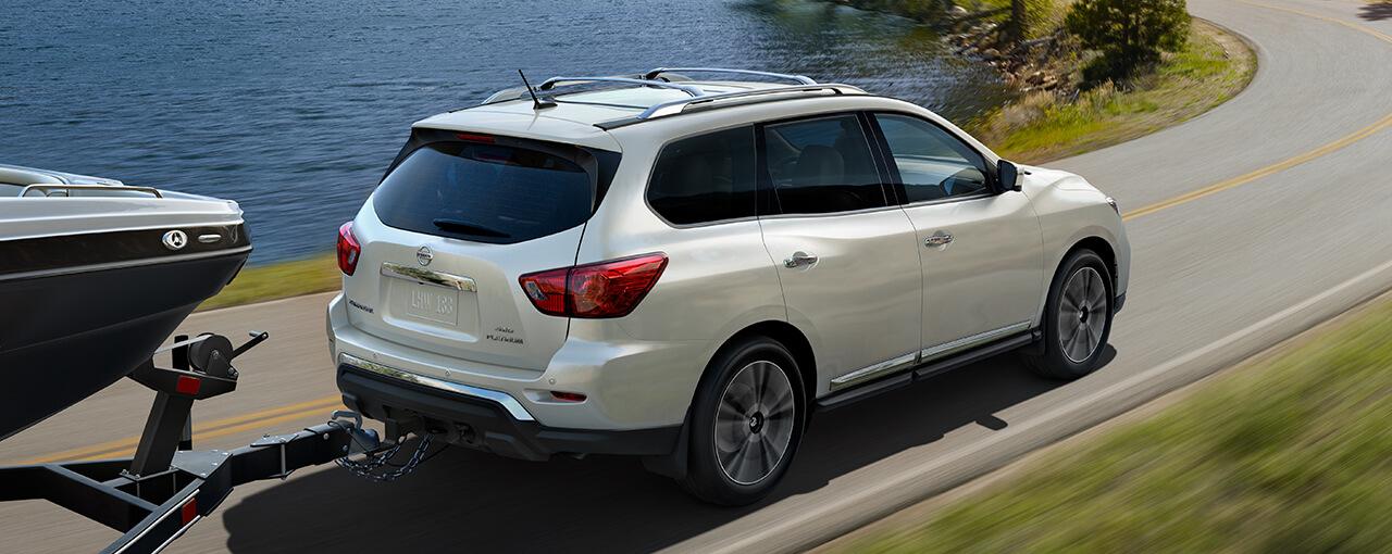 2017 Nissan Pathfinder towing capacity