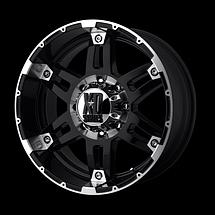 KMC XD Series SPY Gloss Black