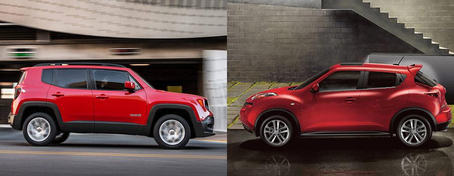 Jeep Renegade vs Nissan Juke