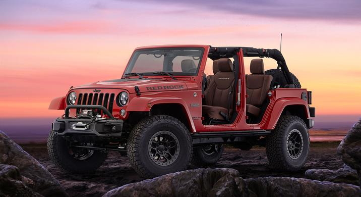 Meet The Jeep Wrangler Red Rock Concept Vehicle From Sema 2015