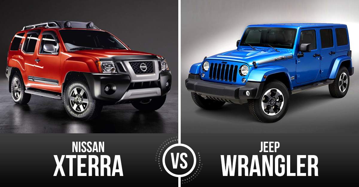 Captivating Nissan Xterra Vs Jeep Wrangler
