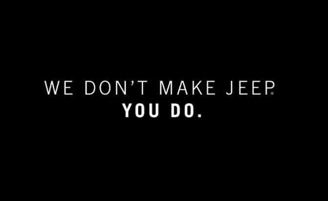 Jeep Ad - Superbowl
