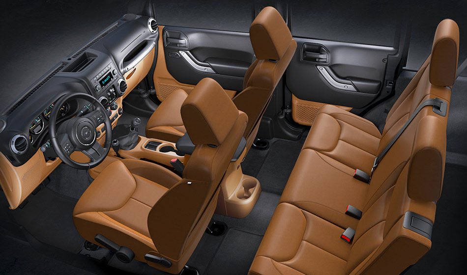 Jeep Wrangler Red Rocks Concept Tan Interior