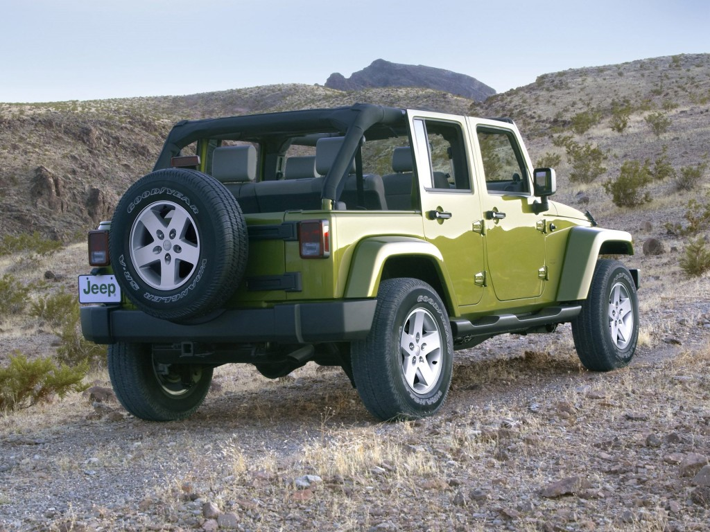 2007 Jeep¨ Wrangler Unlimited. JP007_039WR