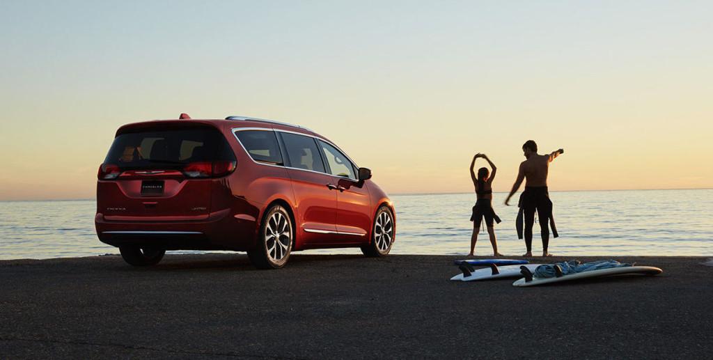 2017 Chrysler Pacifica Practical Design