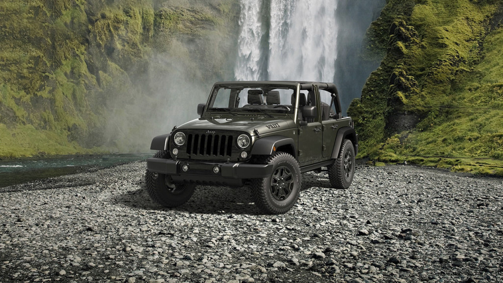 2016 Jeep Wrangler Unlimited Willy's Wheeler