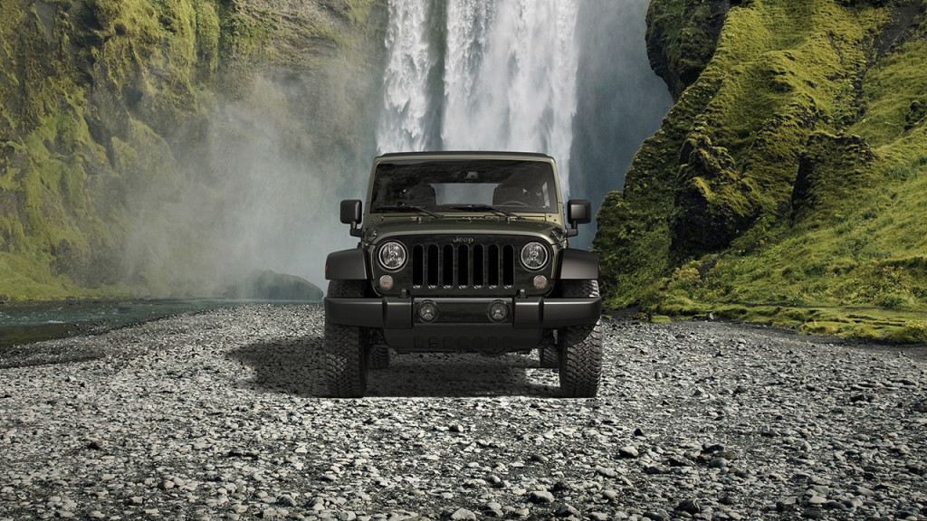 2016 Jeep Wrangler Unlimited Willy's Wheeler Front