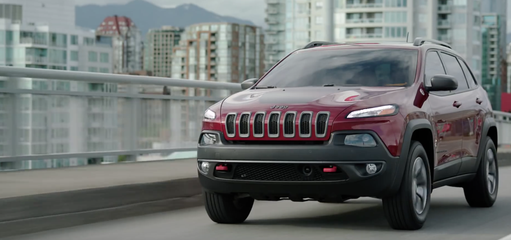 Jeep Cherokee Detour Front